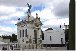 Typical understated mausoleum