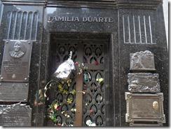 Evita's mausoleum