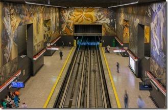 Underground street art
