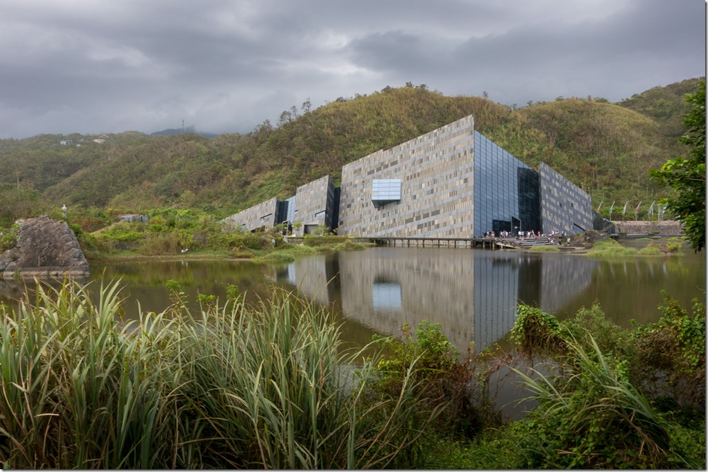 Lanyang museum - a striking building