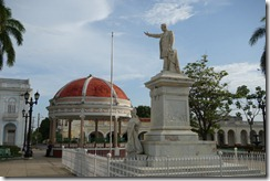 Statue of Jose Marti in Cienfuegos main square