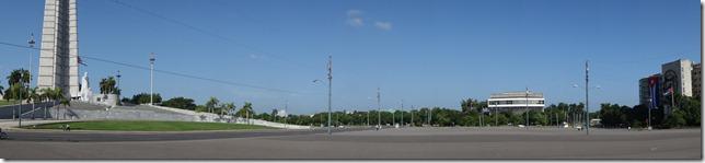 Panoramic view of Plaza de la Revolucion