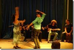 Flamenco dancing at our restaurant