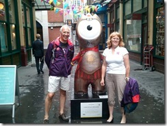 Londinium Wenlock to mark the site of an ancient Roman market