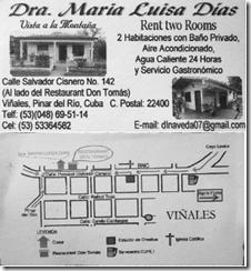 Contact details for Casa Maria