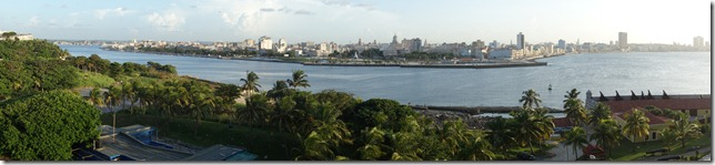 Looking across the harbour at Havana Vieja
