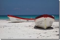 Fishing boats on the beach at Playa del Pescadores