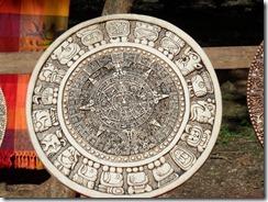 Mayan Calender carving