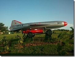 Cuban missile defence system!