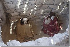 Mummies at Chauchilla Cemetery