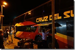 Loading up the night bus!