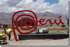 Peru has the best logo of the countries we've visited so far