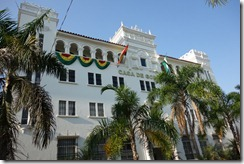 Governor's residence in Santa Cruz
