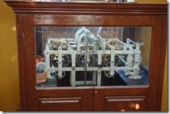Clock mechanism in Santa Cruz Cathedral
