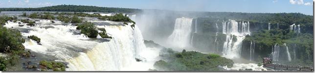 Iguassu Falls - most of, at least