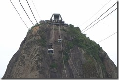 Cable cars to Sugarloaf mountain