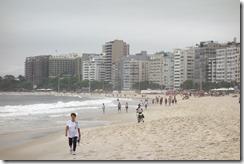Copacabana a bit busier