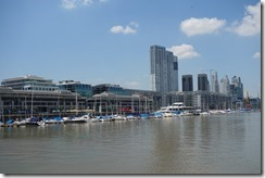 Much more modern - Puerto Madero, Buenos Aires