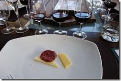 Taster food and wine