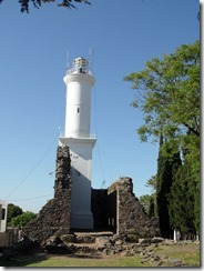 1694 ruins and 1845 lighthouse