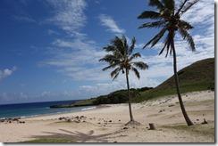 Picture postcard Pacific Island beach