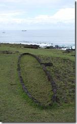 Ruins of Rapa Nui boat house