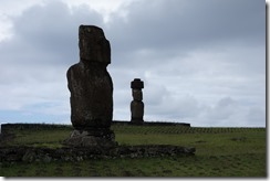 Moai at Tahai