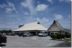 Terminal at Rangiroa Airport