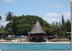 Looking back at Anse Vata beach