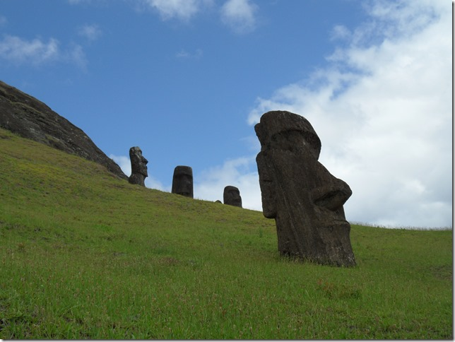 The picture I've always had of Easter Island