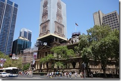 The old and the new in Sydney City Centre