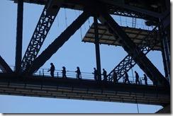 Harbour bridge walkers