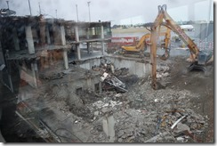 Still rebuilding after the earthquake at Christchurch Airport
