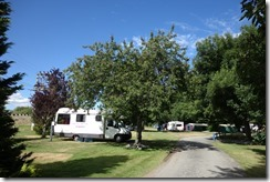 Campsite in Fairlie