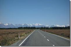 Snow capped Southern Alps