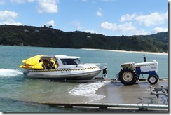 Getting the taxi out of the water