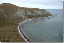 View around one of the peninsular bays