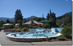 Thermal pools at Hanmer Springs