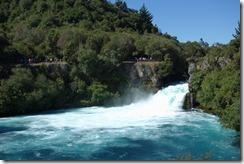 Huka Falls - not huge but worth viewing