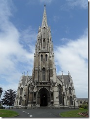 Not a cathedral in Dunedin - just an (impressive) church