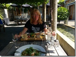 Great lunch at Allan Scott winery