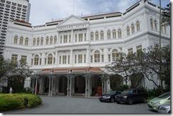 Raffles Hotel - not quite in our price range!