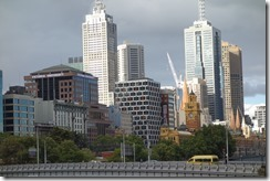Melbourne skyline - the old and the new