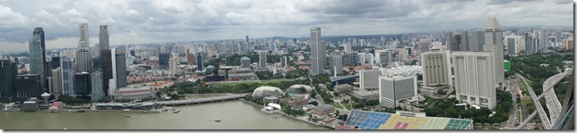 View from the SkyPark Observation Deck