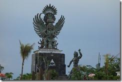 Outside Suharto's sons resort