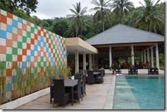 Pool and restuarant in Kebun Villas, Senggigi - will we miss this?