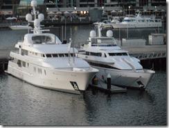 James Packer's boat