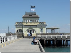 The pier at St Kilda