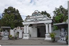 The correct entrance to the Kraton