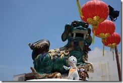 Olly enjoys Chinatown